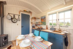 Shepherds huts interior image
