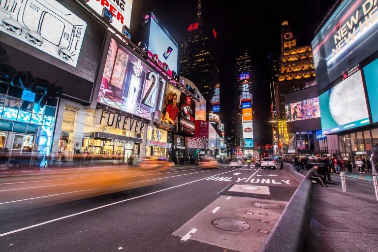 times square, new york, city