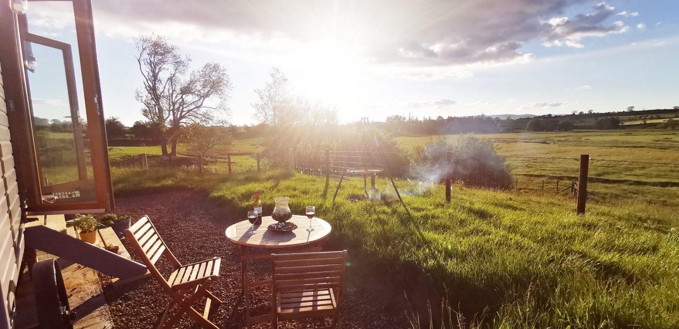 Shepherds huts outdoor image