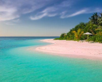 beach, paradise, island